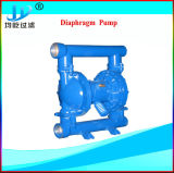 Pompe à diaphragme pneumatique en plastique pour l'industrie chimique