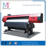 Alta qualità poco costosa di prezzi 1.8m e stampante solvibile dell'interno esterna di alta risoluzione di Dx7 Eco per tela di canapa, bandiera del PVC, vinile Mt-1807de