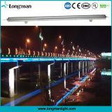 Luz impermeável da lavagem da parede do diodo emissor de luz de 12W RGB para a iluminação da ponte
