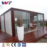Дом контейнера двойного этажа низкой стоимости модульные, дом контейнера и контейнер офиса
