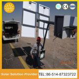سطوع فائقة شمسيّة [ستريت ليغت] شمسيّة [لد] إنارة لأنّ طريق فناء بلد