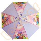 明確で多彩なプラスチックPoe雨まっすぐな子供の傘