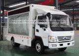 5 camion de publicité mobile imperméable à l'eau du véhicule 4*2 d'étalage d'écran de T DEL