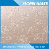 Декоративные стеклянные/ цветочный окрашенные стекла