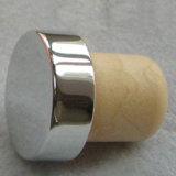 Zilveren Hoogste Professionele t-Gevormde Synthetische Hoogste Cork van de Staaf
