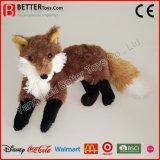Giocattolo molle eccellente di Fox della peluche dell'animale farcito dell'abbraccio dei capretti di ASTM