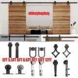 Accessoires rustiques de porte, accessoires de porte de grange, grille de glissement