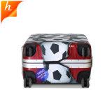Футбол крышки багажного отделения для печати крышка спандекс Dropshipping чемодан для поездок