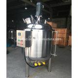 Tanque de armazenamento industrial do suco do aço inoxidável 500L do agitador