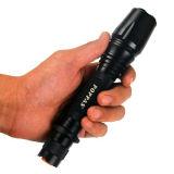 Кри T6 зум алюминиевых светодиодный фонарик аккумулятор (V)2-858 POPPAS-