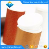 Kundenspezifisches rundes Pappgefäß mit Plastikschüttel-apparatkappe