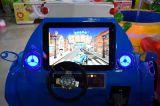 Le Kiddie chinois de fibre de verre de fournisseur conduit la mini petite machine à jetons de jeu d'amusement de véhicule de police à vendre