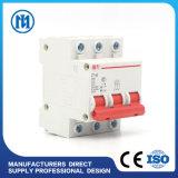 Disjoncteur de miniature de disjoncteur de fuite de la terre de MCB 230V 400V 63A 4p