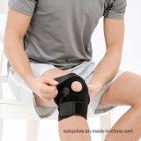 La protezione di sport ha personalizzato la parentesi graffa registrabile di sostegno del ginocchio del neoprene