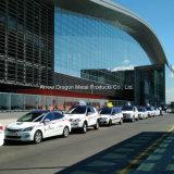 Non-Combustible Comités van de Honingraat van het Aluminium PVDF voor de Bus van de Motor