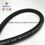 Hot Sale SAE durables100 R5 flexible en caoutchouc hydraulique