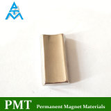 N40h Tegular Magneet van de Motor van het Neodymium met Magnetisch Materiaal NdFeB