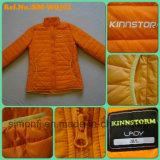 冬(SM-WQJ02)の女性の方法オレンジ色のライトのジャケット