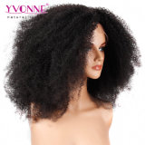 Peluca rizada del cordón del pelo humano del Afro de calidad superior al por mayor de alta densidad