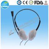 Nonwoven Dispsoableの耳カバー、大広間のためのTrasparentのPEの耳カバー