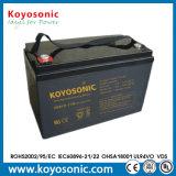 batterie profonde de la batterie rechargeable AGM de cycle de 12V 40ah pour le réverbère solaire