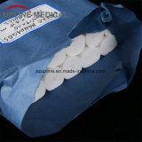 Esterilização da qualidade superior da atadura cirúrgica da gaze