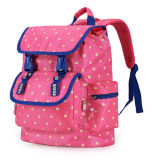 女の子のナイロンかわいい漫画の学校の肩のバックパックは学生袋をからかう