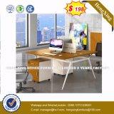Bureau moderne de couleur sombre Ordinateur de bureau de poste de travail (HX-8NR0458)