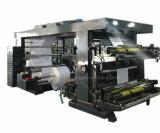 Machine d'impression de papier de Flexo de roulis de quatre couleurs
