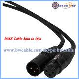 Câble DMX512 assemblage câble 3 broches XLR mâle à femelle 10ft 15ft 20FT fabricant du câble