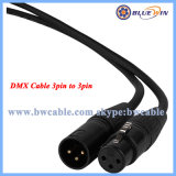 Flexibler des DMX Kabel-3pin Mann des Kabel-XLR Kabel-dem Hersteller zu des Weibchen-10FT 15FT 20FT