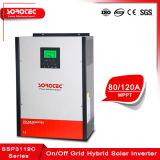 Sur la grille de l'onduleur solaire ssp3119c 1 à 5 KW avec stockage d'énergie