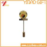 製造者の長い針(YB-SM-15)とのカスタム金属の紋章の折りえりPin