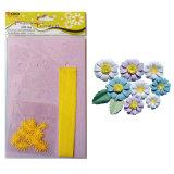 Flor de papel artesanal DIY Kit de Material de Daisy