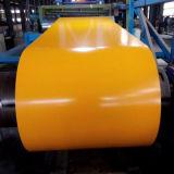 Строительных материалов с полимерным покрытием Ral Prepainted катушки оцинкованной стали