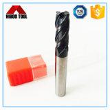 Торцевые фрезы радиуса карбида верхнего качества Z4 для механических инструментов CNC