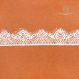 テュルは花嫁の束ねられたビーズのレースファブリックを刺繍した