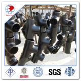 T égal Smls Bw 4 pouces de l'annexe 20 ASME B16.9 ASTM A234 Gr. Wpb