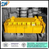 Aimant de levage électrique original de la température élevée MW19-63072L/2 de type pour traiter la bobine de barre de fer