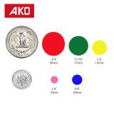 優秀な品質のオフセット印刷の円形の多彩な点の自己接着ステッカーのラベル