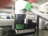 Neue Technologie-Abfall HDPE-LDPE-Heizfaden-Beutel-Faser, die Zeile mit Agglomerator aufbereitend pelletisiert