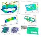 Modanatura di modellatura della muffa di plastica dello stampaggio ad iniezione che lavora 55