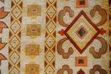 с картиной симметрии, желтая ткань софы жаккарда синеля (FTH31715)
