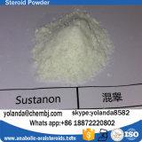 Injizierbares Steroid Puder-Prüfungs-Mischungs-Testosteron Sustanon 250 für Musle-Gebäude
