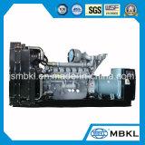 leises Set des Generator-750kVA/600kw angeschalten durch BRITISCHEN Perkins-Dieselmotor (4006-23TAG2A)