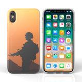 IMD weicher TPU Telefon-Kasten des kundenspezifischen Drucken-für iPhone X