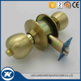 Gute Qualitätsmessingkugel-Drehknopf-Tür-Verschluss-zylinderförmiger Tür-Verschluss