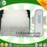 Pañal es el aire caliente a través de la textil tejido sin tejer hidrófilos