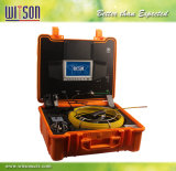Witson Abwasserkanal-Wasser-Leck-Abflussendoscope-Rohr-Rohrleitung-Inspektion-Einheit mit Miniful 12mm Kamera-u. 7 Zoll LCD-DVR Controller