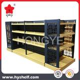 Visor de estilo Muji estantes com prateleiras de madeira